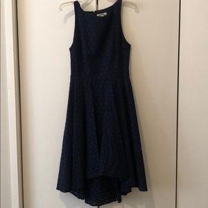 Navy BB Dakota overlay dress - size 6